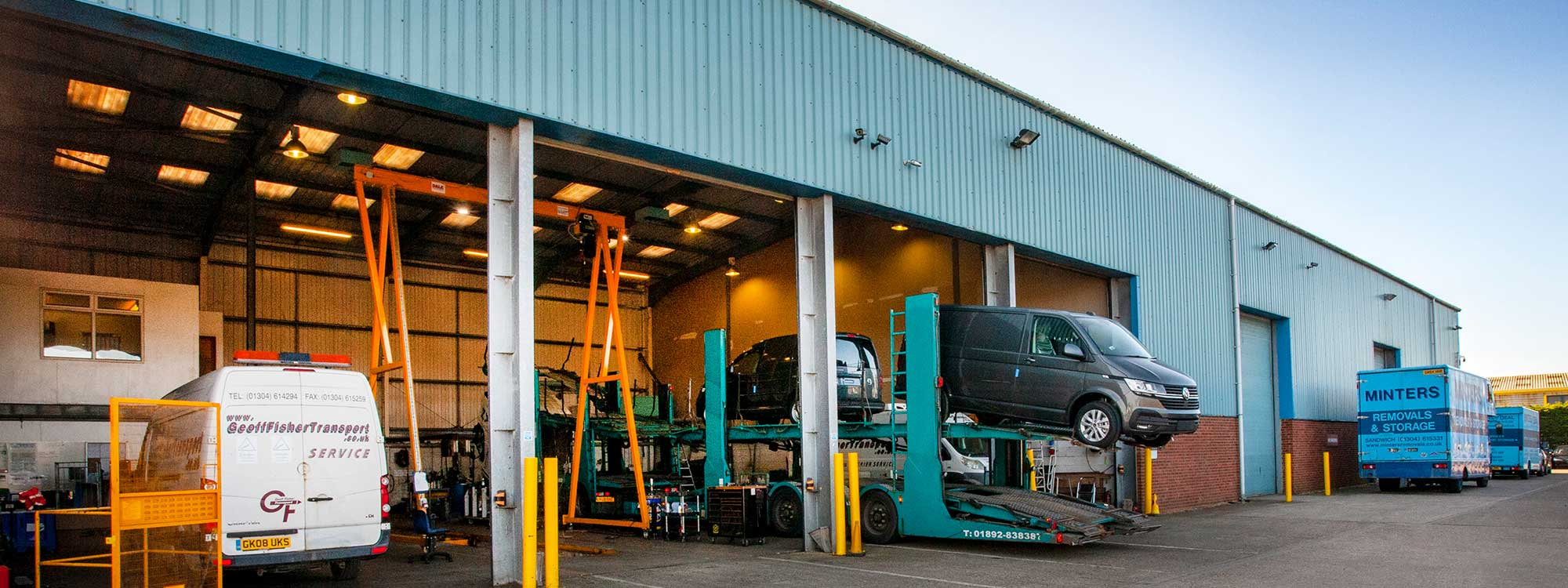 Image of the Minters of Deal vehicle storage facilities