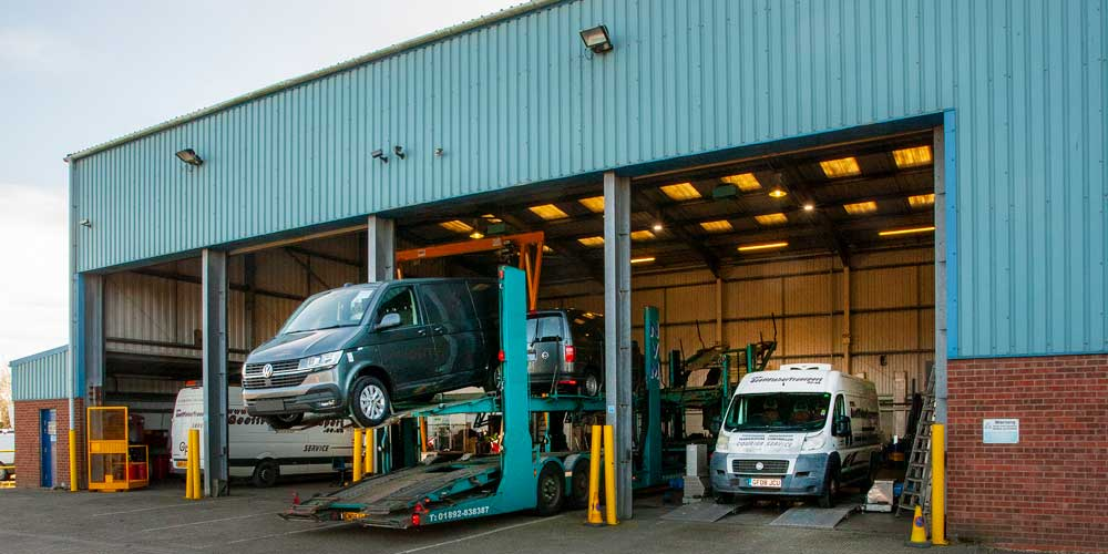 Vehicles storage at Minters Of Deal, Sandwich & Canterbury